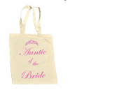 Auntie of the BRIDE 100% Cotton Bag #10