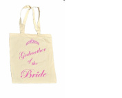 Godmother of the BRIDE 100% Cotton Bag #12