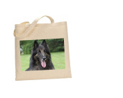 Belgian Tervuren DOG 100% Cotton Bag(FC) #29
