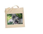 Keeshond DOG 100% Cotton Bag(FC) #154