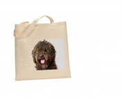 Spanish water Spanish DOG 100% Cotton Bag(FC) #235