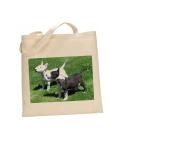 Miniature Bull terrier DOG 100% Cotton Bag(FC) #170
