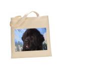 Newfoundland DOG 100% Cotton Bag(FC) #175