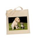 Labrador DOG 100% Cotton Bag(FC) #160