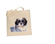 Shih tzu DOG 100% Cotton Bag(FC) #227