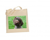 German wire haired pointer DOG 100% Cotton Bag(FC) #116