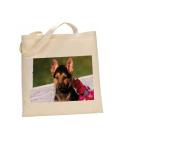 German Shepherd DOG 100% Cotton Bag(FC) #114