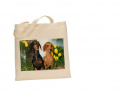 Dachshund #DOG 100% Cotton Bag(FC) #85