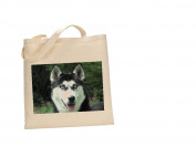Husky DOG 100% Cotton Bag(FC) #134