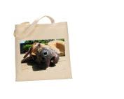 Great Dane DOG 100% Cotton Bag(FC) #123