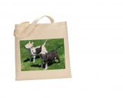 English Bullterrier DOG 100% Cotton Bag(FC) #96