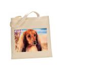 Dachshund # DOG 100% Cotton Bag(FC) #86