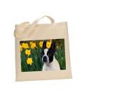 Boston Terrier #DOG 100% Cotton Bag(FC) #39