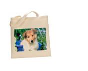 Shetland Sheepdog (sheltie) #DOG 100% Cotton Bag(FC) #221