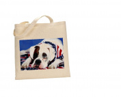 American Bulldog DOG 100% Cotton Bag(FC) #7
