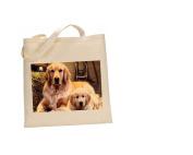 Golden Retriever DOG 100% Cotton Bag(FC) #118