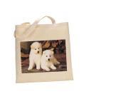 Akita DOG 100% Cotton Bag(FC) #6