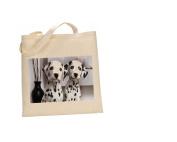 Dalmatian DOG 100% Cotton Bag(FC) #89