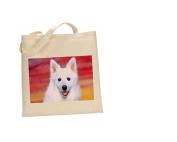 American Eskimo DOG 100% Cotton Bag(FC) #10