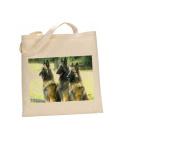 Belgian Shepherd DOG 100% Cotton Bag(FC) #28