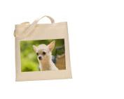 Chihuahua DOG 100% Cotton Bag(FC) #66