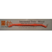 DHB mixed twin handle interdental brush