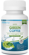 Super Green Coffee by eBody | 50% Chlorogenic Acid | Slimming Diet Pills | Fat Burners For Men & Women