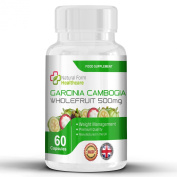 Garcinia Cambogia Professional Strength Weight Loss - Lose Weight in a Month With These Extreme Weight Loss Supplements - Whole Fruit - Natural Appetite Suppressant And Metabolic Booster - 60 capsules