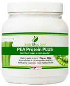 PEA Protein Plus vegan protein powder. Fortified with antioxidants, phyto-nutrients, vitamins and minerals from 9 herbs and superfoods (including baobab fruit).A Light nutritious meal, Dairy, Lactose and Gluten Free. Protein intake, fat burning, muscle ..
