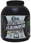 Halal Sports Nutrition Hi-Calorie Weight Gainer - Vanilla 3kg