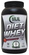 Halal Sports Nutrition Diet Whey - Strawberry 1kg