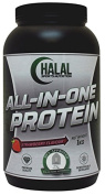 Halal Sports Nutrition All-in-One Protein - Strawberry 1kg