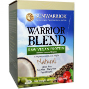 Warrior Blend, Raw Vegan Protein, Natural, 520ml (500 g) - Sun Warrior
