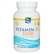 Vitamin D3 5000, Orange, 120 Soft Gels - Nordic Naturals - UK Seller