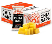 Health Warrior Chia Bar, Mango, 25 Grammes,15 Count