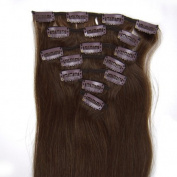 Beauty Online 15-50cm Indian Remy Hair Clip In Hair 7PCS 70g/set Silky Straight - Colour