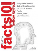 Studyguide for Therapist's Guide to Clinical Intervention