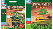 Dinosaur Trump Cards & Dinosaur Hand Tattoos - SET OF 2 ITEMS