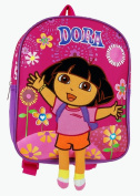 Mini Backpack - Dora the Explorer - w/ Fireworks Pink 25cm New School Bag 618544