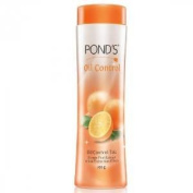 2 X Ponds Oil Control Talcum Powder - Orange Peel Extract & Sun Protection Tpi-60 Talc 100g X 2 Pack