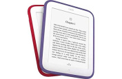 Barnes & Noble Nook Simple Touch 15cm GlowLight eReader Colour Bands 2 Pack - Red & Purple