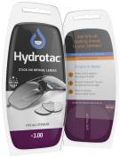 Stick-On Bifocal Reading Lenses/HydroTac Stick-On Magnifying Lenses/Stick-On Reading Lenses for Sunglasses/ Safety glasses/Sport glasses/Ski goggles/+3.00D