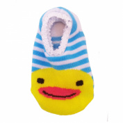 Baby Non Slip Socks - Blue Duck - Girls & Boys 0-24 Months
