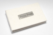 Baby's Brag Book - white pocket sized 15cm x 10cm photo album