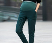 BRAND NEW Slim-Fit Skinny Maternity Trousers Teal Size 8
