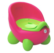 Potty Chair by LuvdBaby | Removable Inner Potty with Lid | High Back Rest Ergonomic Design | Non-Slip Feet | Funky Design that Your Boys and Girls Will Love