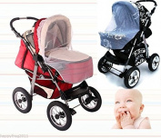 Universal MOSQUITO NET Ideally adapts to the shape of any pram strollers BABYLUX