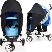 SUNNY SAIL UNIVERSAL PETITE STAR ZIA BUGGY PRAM STROLLER shade parasol substitute Sun & Wind shield
