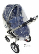 Universal Raincover To Fit Silver Cross Surf Pushchair