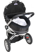 Dooky Pram Shade - Black